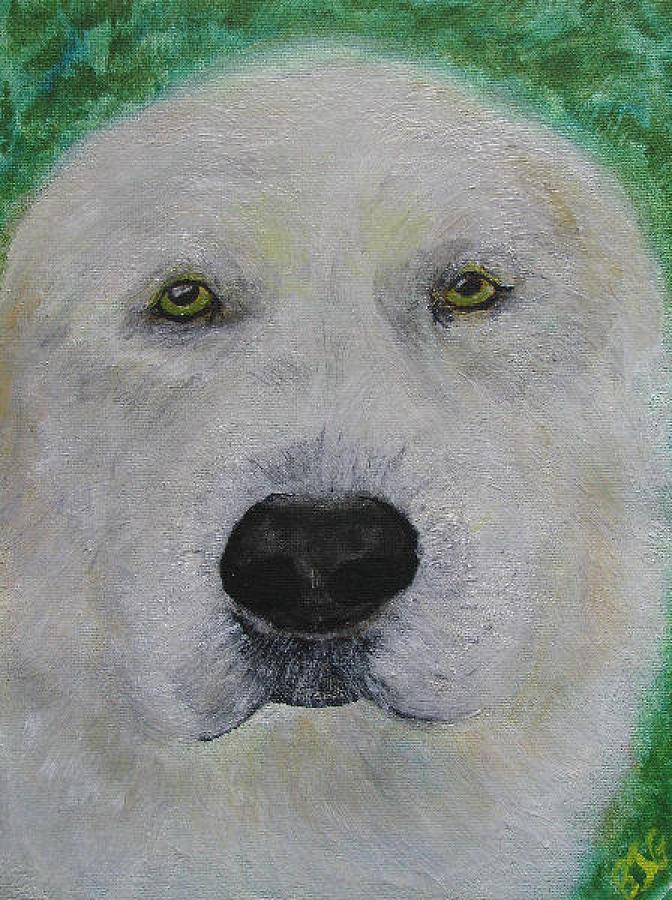 Hanmee 1 Painting by Barbara Giordano