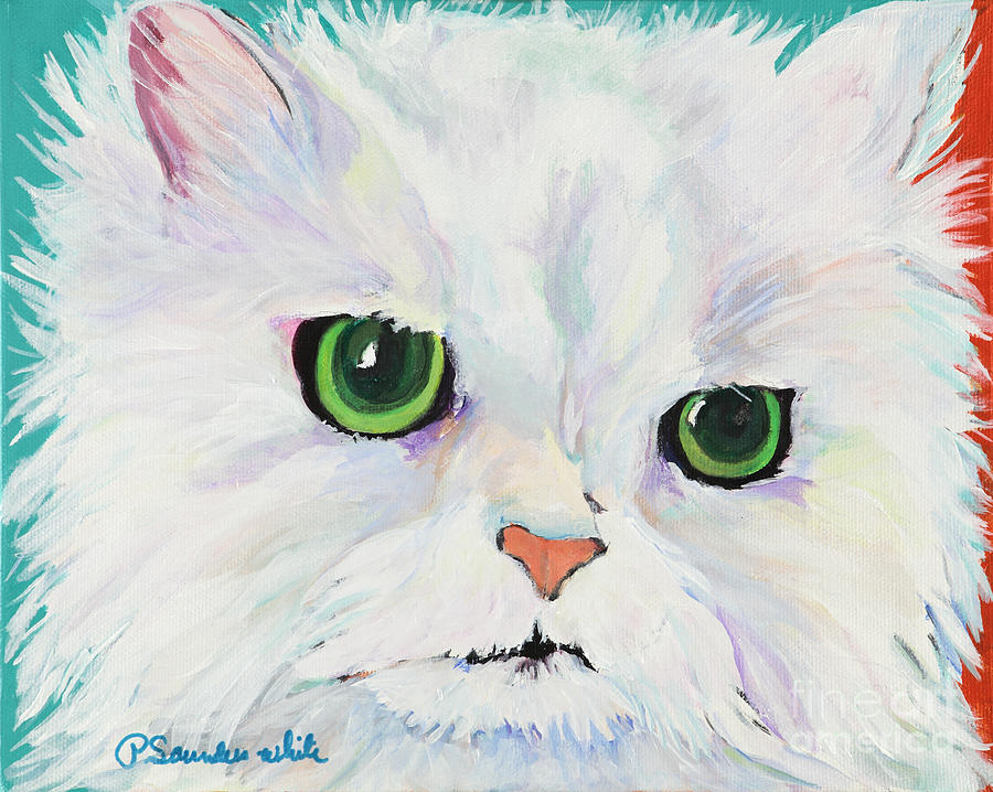 Acrylic Painting - Hannah by Pat Saunders-White