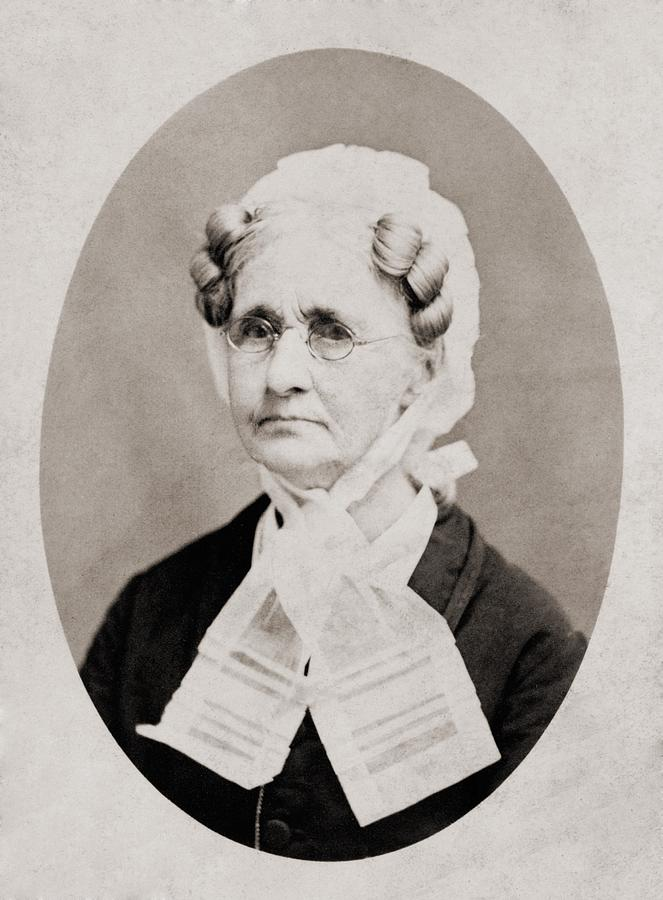 History Photograph - Hannah Simpson Grant 1798-1883, Mother by Everett