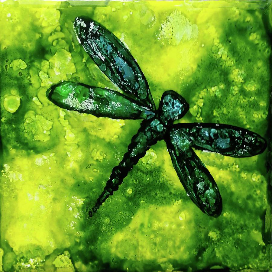 Hannas Dragonfly Mixed Media