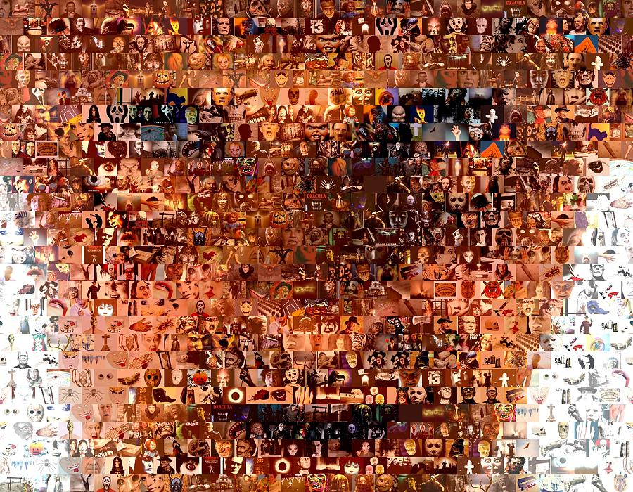 Hannibal Lecter Digital Art - Hannibal Lecter M.d. Mosaic by Paul Van Scott