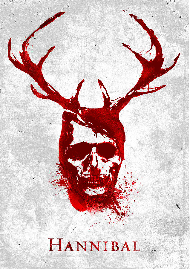 Hannibal tv show poster by IamLoudness Studio