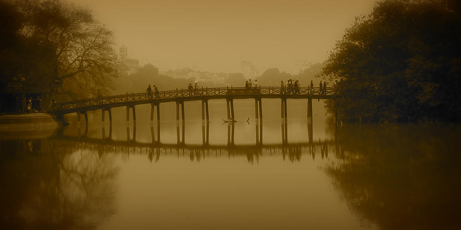 Hanoi Photograph - Hanoi Vietnam by Jamie Cain