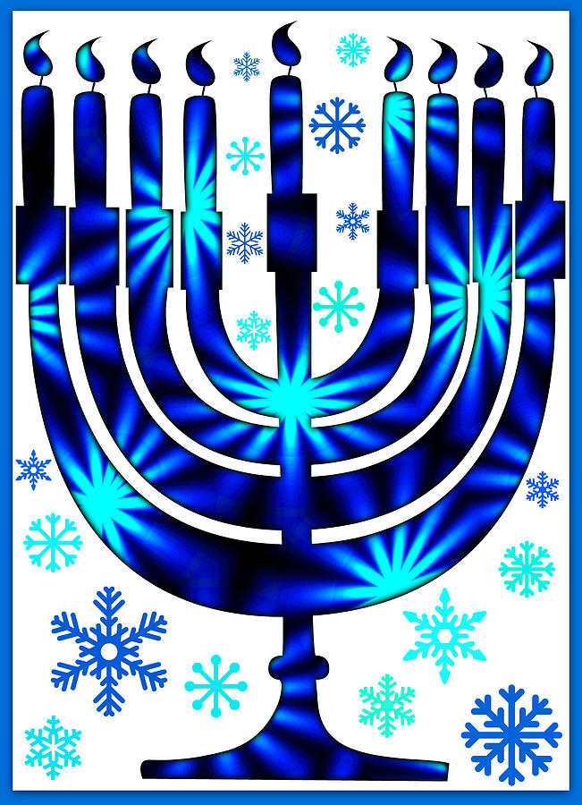 Hanukkah greeting card iii digital art by aurelio zucco hanukkah digital art hanukkah greeting card iii by aurelio zucco m4hsunfo