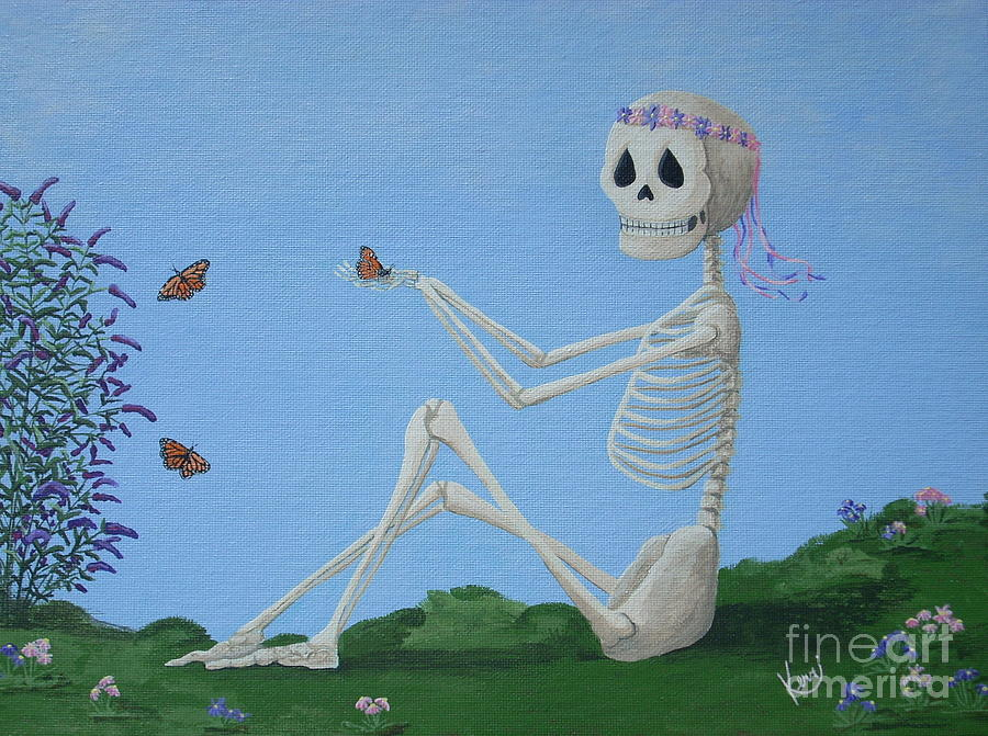 Whimsical Painting - Happily Ever After by Kerri Ertman