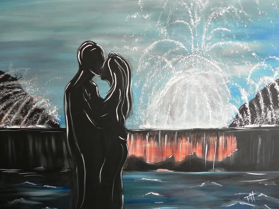 Couple Painting - Happily Ever After by Patti Spires Hamilton
