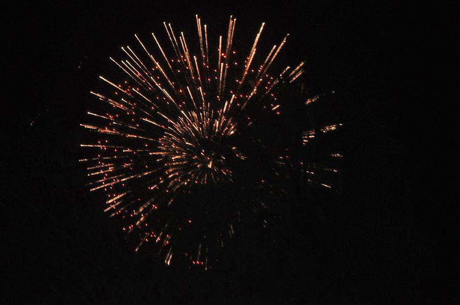 Color Photograph - Happy 4th.from Palm Desert 1 by Jay Milo