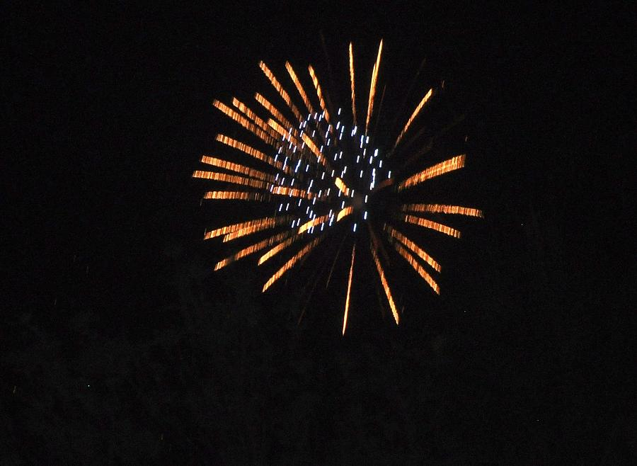 Color Photograph - Happy 4th.from Palm Desert 2 by Jay Milo