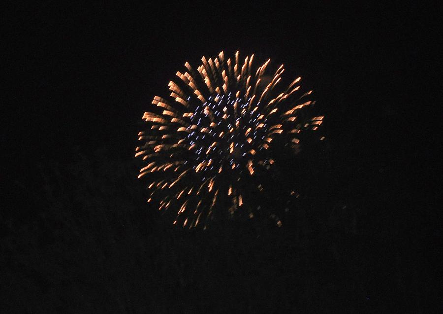 Color Photograph - Happy 4th.from Palm Desert 3 by Jay Milo