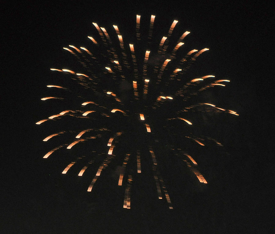 Color Photograph - Happy 4th.from Palm Desert 7 by Jay Milo