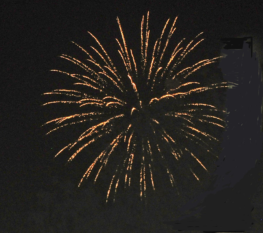 Color Photograph - Happy 4th.from Palm Desert 9 by Jay Milo