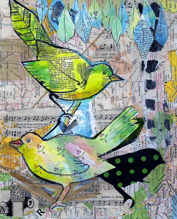 Happy Birds by Jillian Goldberg