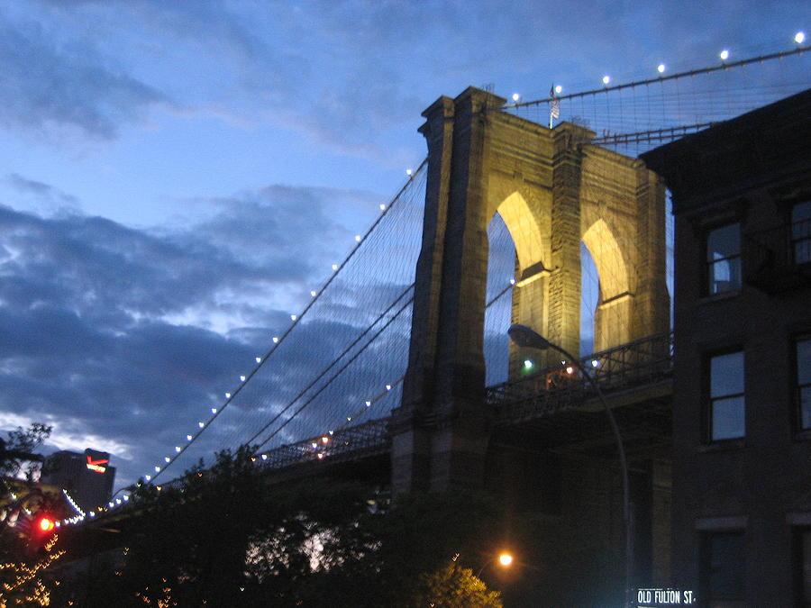 Bridge Photograph - Happy Birthday Brooklyn Bridge 09 by Joanna Baker - Jenkins