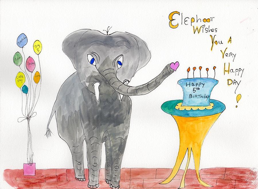 Happy Birthday  by Helen Holden-Gladsky