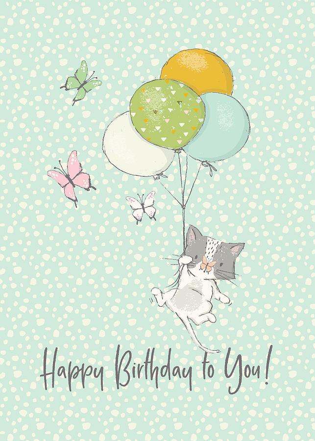 Birthday Card Digital Art