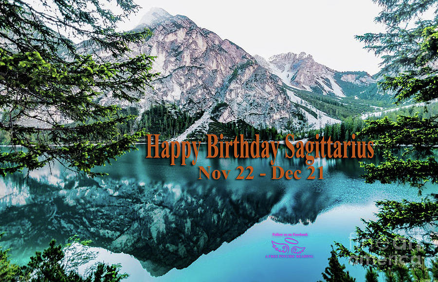 Happy Birthday Sagittarius by Beauty For God