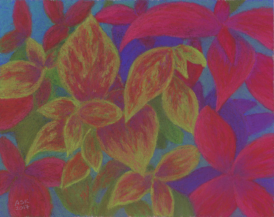 Happy Coleus by Anne Katzeff