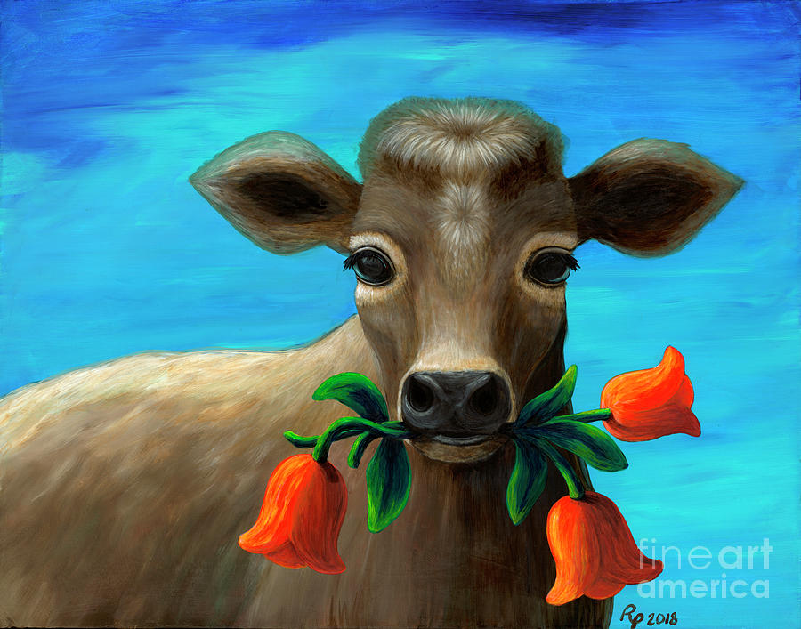 Happy Cow by Rebecca Parker