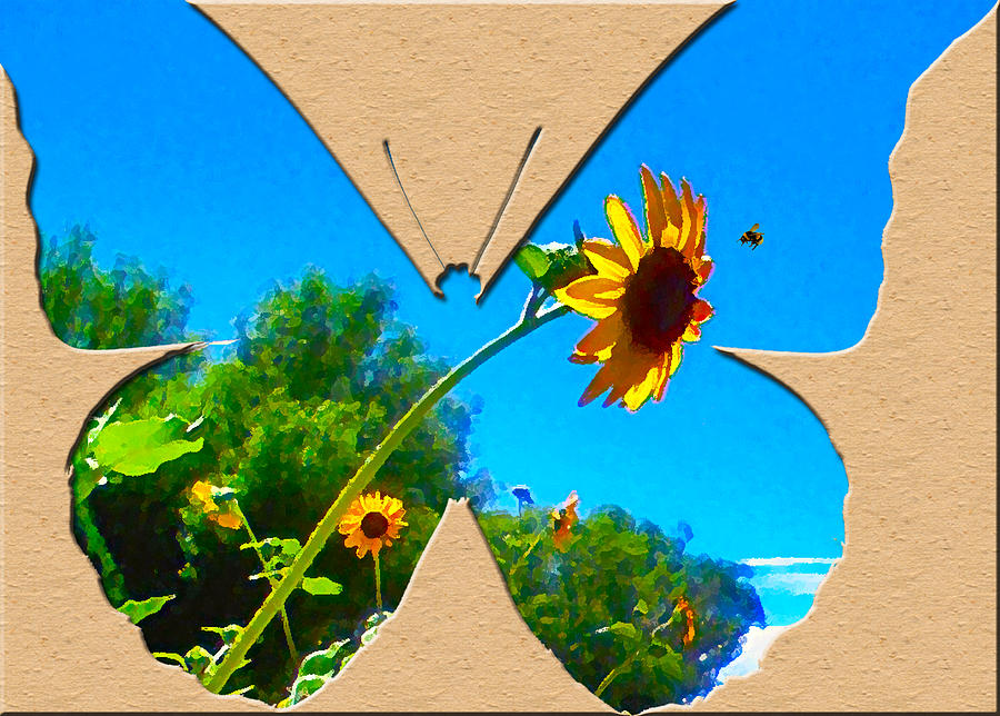Greeting Card Photograph - Happy Day Greeting Card by Adele Moscaritolo