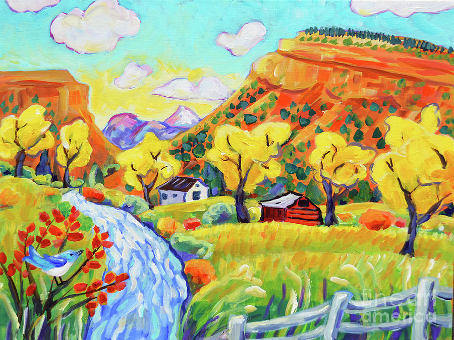Lyons Painting - Happy Day in Lyons by Harriet Peck Taylor