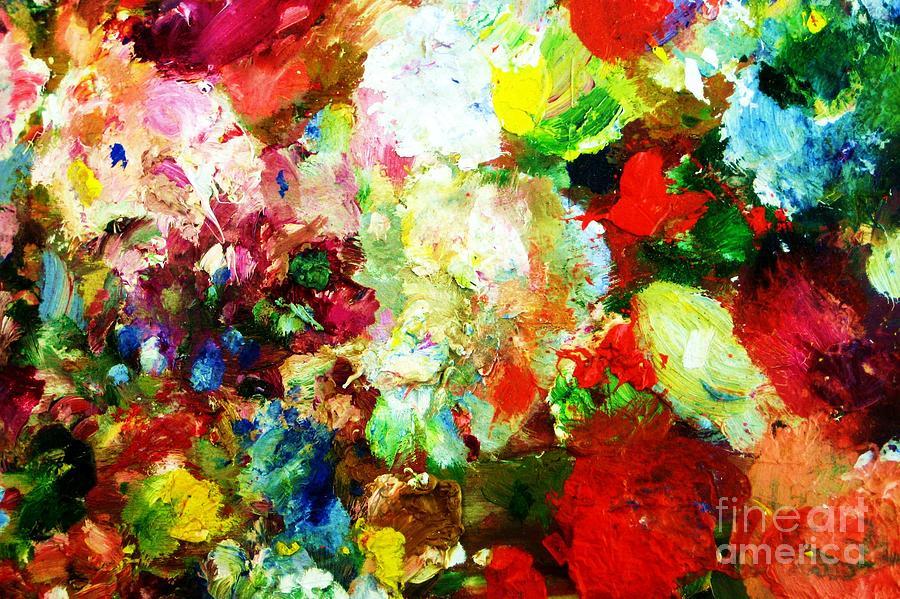 Oilpaint Painting - Happy Days... by Anastasis  Anastasi