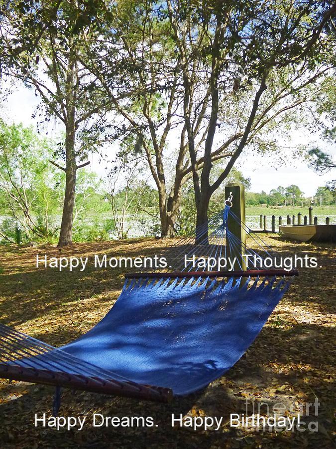 Happy Dreams Card Photograph