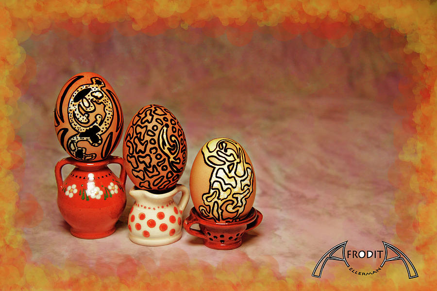 Easter Photograph - Happy Easter by Afrodita Ellerman