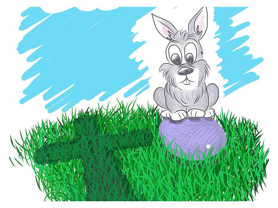 Easter Digital Art - Happy Easter by Antonio Romero