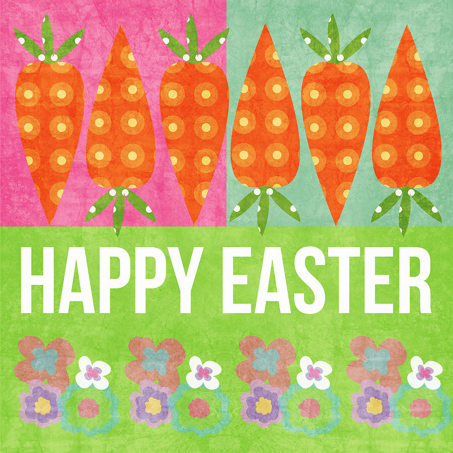 Happy Easter Mixed Media