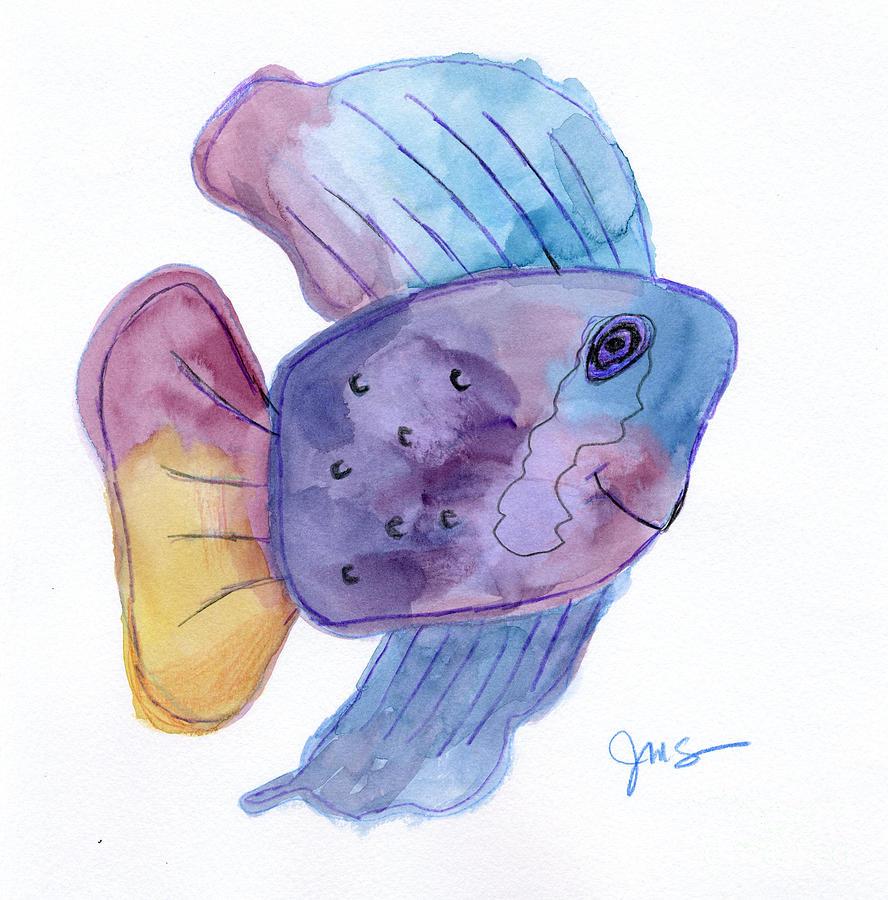 Happy Fish by Julia Stubbe