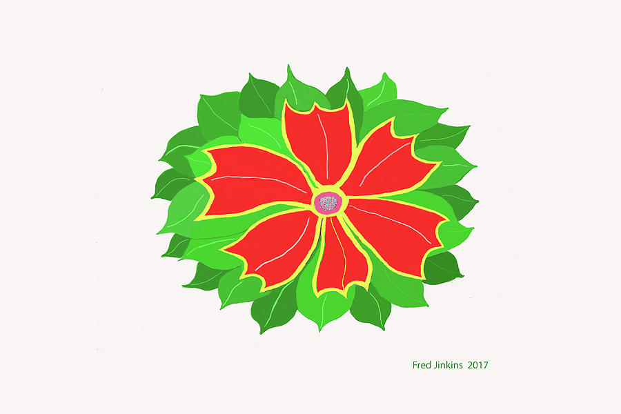 Flower Digital Art - Happy Flower by Fred Jinkins