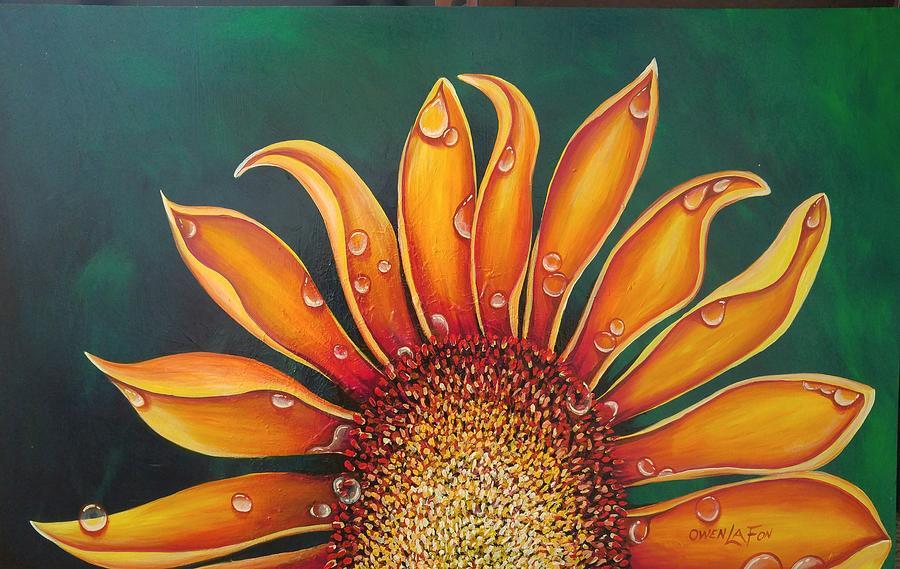 Happy Flower by Owen Lafon