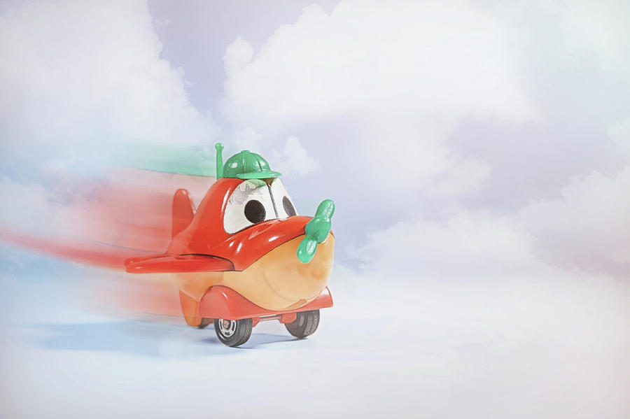 Toy Photograph - Happy Flying by Scott Norris