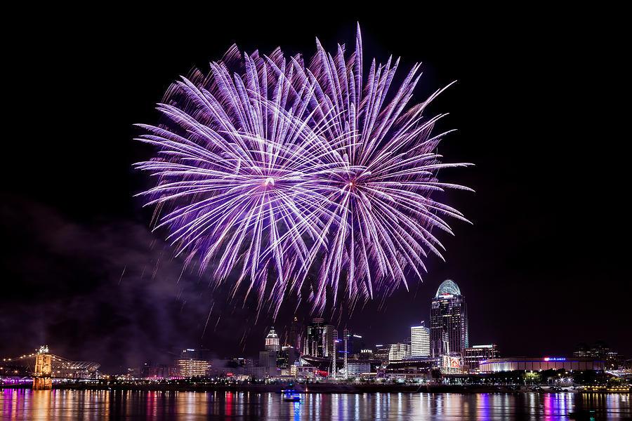 Happy Fourth Cincinnati Photograph By Keith Allen