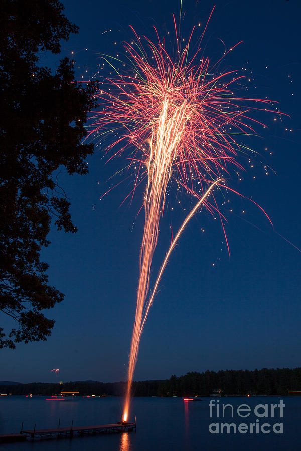 94266d8b Fourth Of July Photograph - Happy Fourth Of July 2 by Aquadro Photography