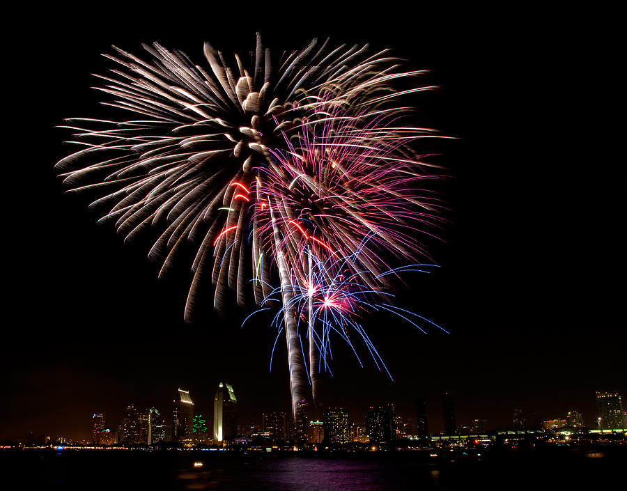 Fourth Of July Photograph - Happy Fourth Of July by Thanh Thuy Nguyen