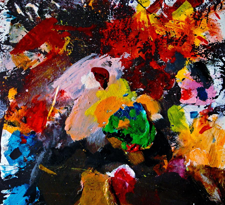 Abstract Painting - Happy Harmony by Natalie Holland