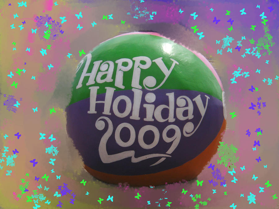 Holiday Photograph - Happy Holiday by James and Vickie Rankin