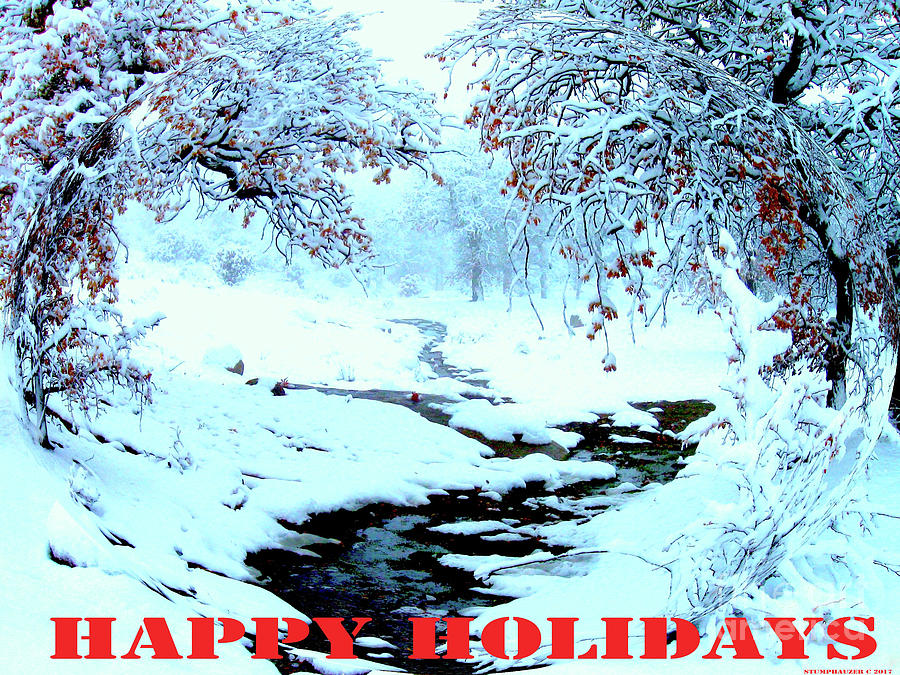 Happy Holidays by Jerome Stumphauzer
