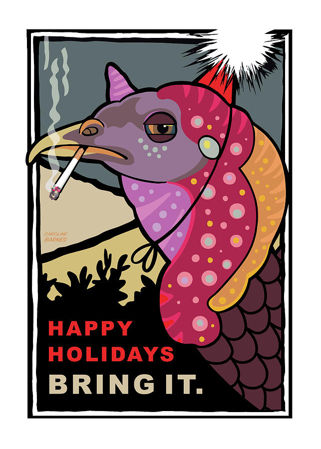 Happy Holidays by Caroline Barnes