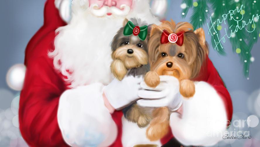 Happy Holidays by Catia Lee