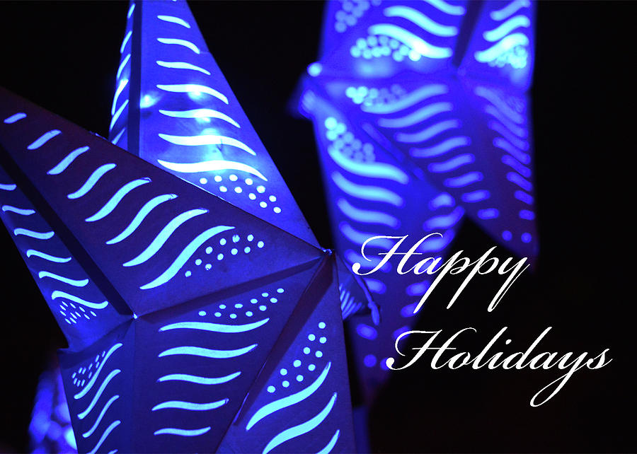 Holidays Photograph - Happy Holidays by Pamela Picassito