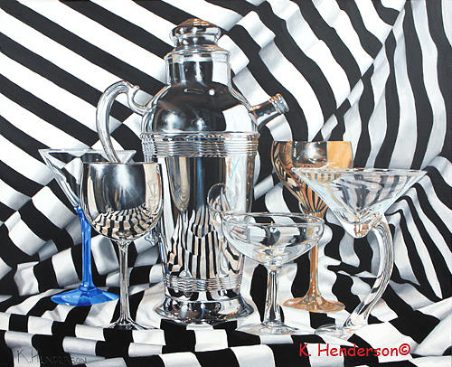 Art Painting - Happy Hour by K Henderson
