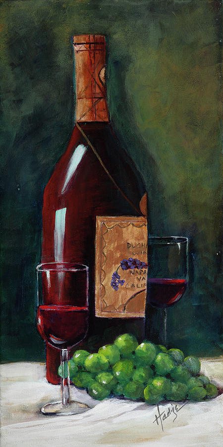 Happy Hour  Painting by Mary DuCharme