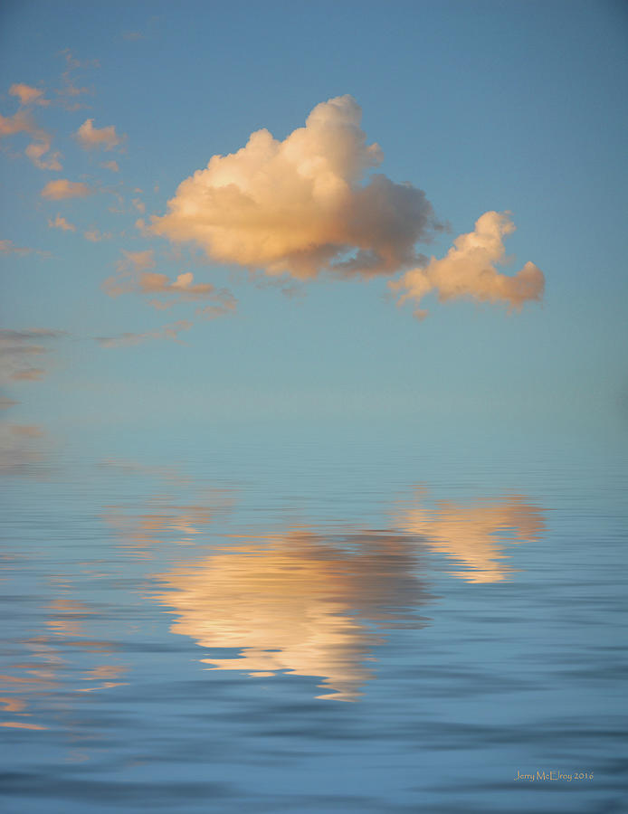 Art Photography Photograph - Happy Little Cloud by Jerry McElroy