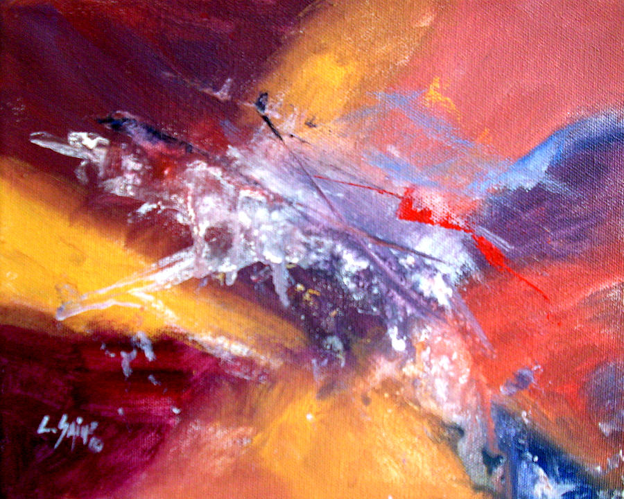 Abstract Painting - Happy Mood by Carolyn Saine