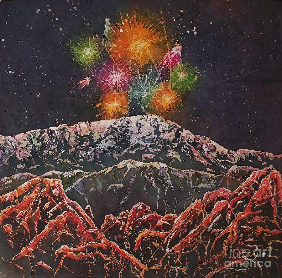 Happy New Year From America's Mountain by Carol Losinski Naylor
