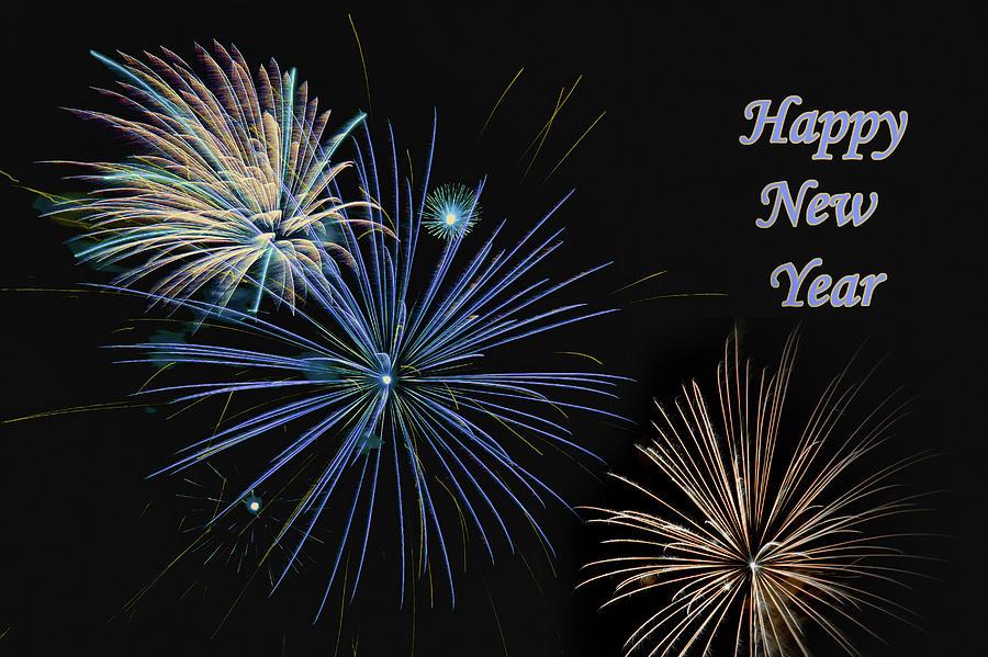 Holiday Photograph - Happy New Year  by Nikolyn McDonald