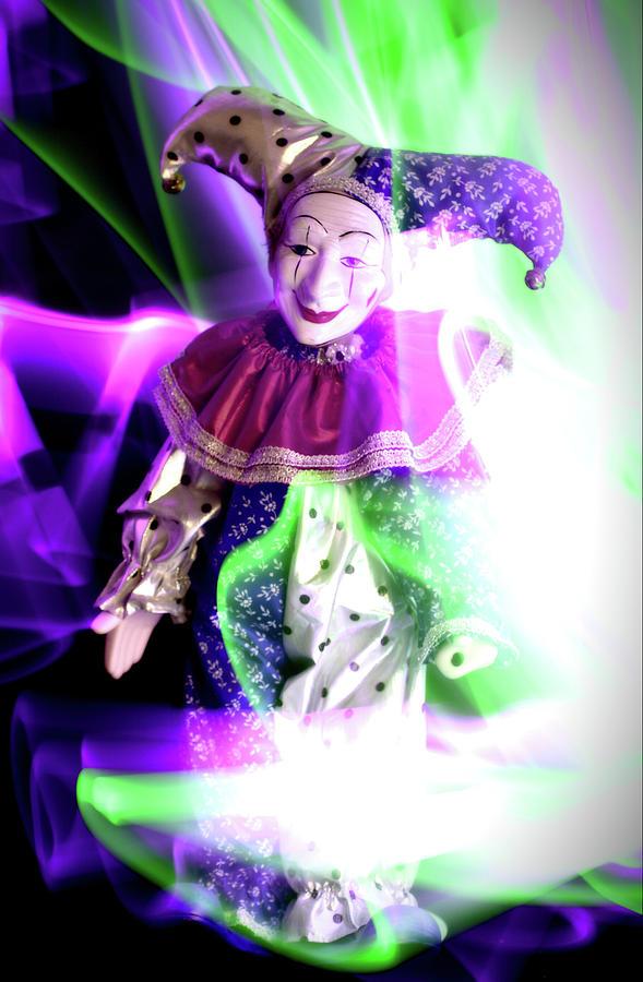Clown Photograph - Happy by Paulina Roybal