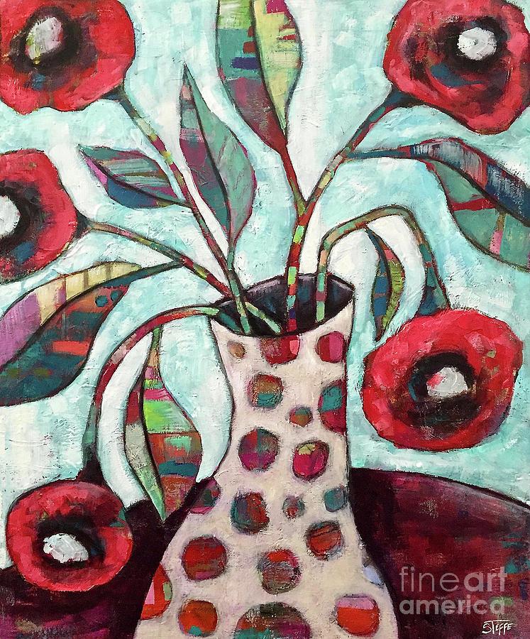 Happy Poppies Painting